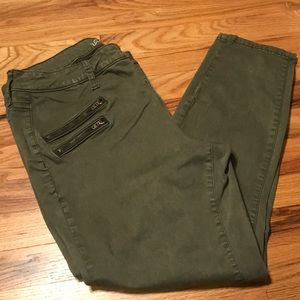 Universal Thread Green Ankle Jeans - Size 14